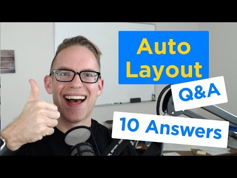 10 Common Auto Layout Questions Answered - iPhone App UI Q&A