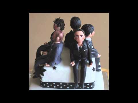 The Wanted Birthday Cake with Edible Figures