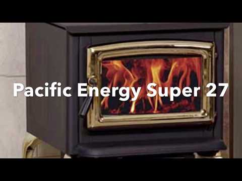 How To Remove Baffle in Pacific Energy Super 27 Wood Stove