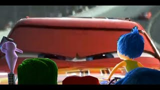 Inside Out Emotions Watching Cars 3 Trailer