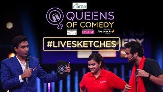 The most challenging task yet on Queens Of Comedy