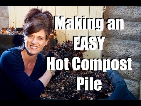 How to Make a Hot Compost Pile - Quick, Simple & Inexpensive  //  Feeding Your Garden #4