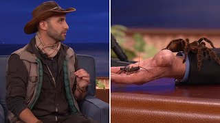 Download Coyote Peterson Introduces Conan And Jeff Goldblum To Some Creatures - CONAN on TBS Video