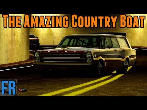 The Amazing Country Boat - Forza Horizon