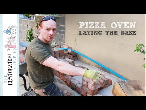 Outdoor Kitchen and Pizza Oven 1.0 | Concrete Base and Design