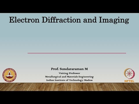 Lec 18 - Indexing  Diffraction Pattern