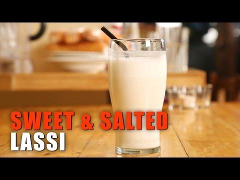Sweet And Salted Lassi | Healthy Breakfast Drink  Recipe | Desi Bites