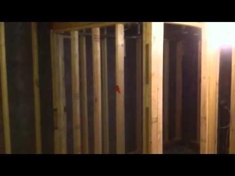 Framing basement