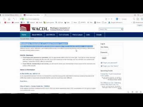 Washington Association of Criminal Defense Lawyers