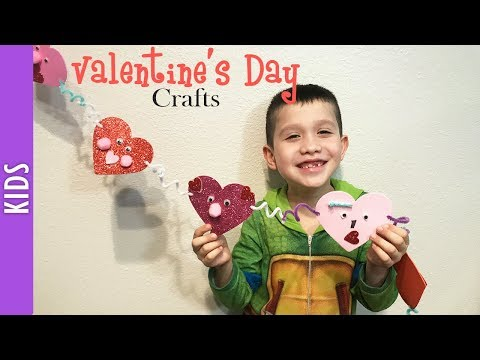 Valentine's Day Crafts with Kids, Chain of Hearts - The290ss