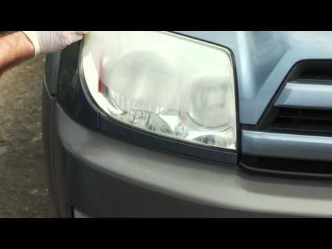 How-To: Use Wipe New to Restore a 4Runner Headlight