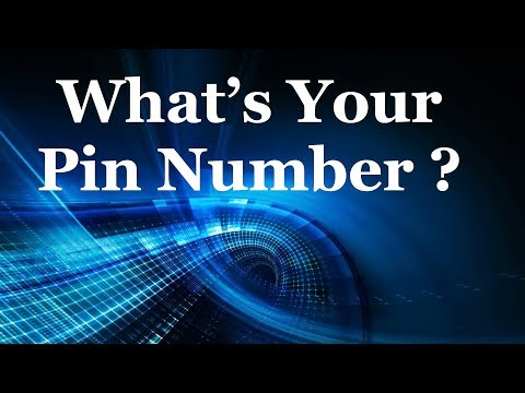 Kingdom Covenant Church - What's Your Pin Number?