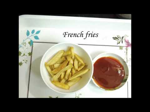 Easy to Make French Fries in Tamil/How to make French Fries in Tamil