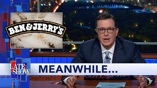 Meanwhile... Ben & Jerry's New Flavor Is A Head-Scratcher