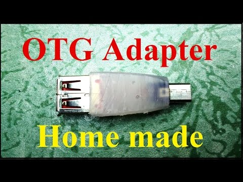 How to make OTG cable/adapter at home