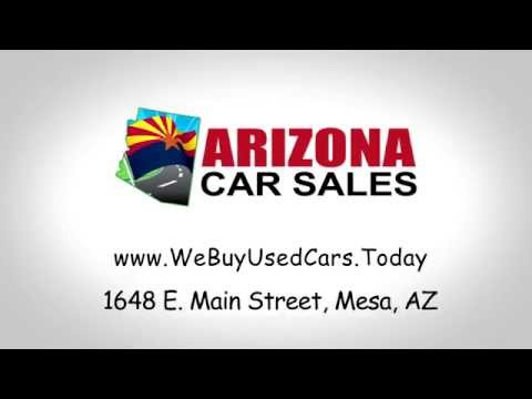 How to Sell Your Used Car for CASH in Mesa Arizona!  3 easy steps!