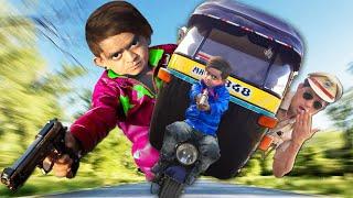 रिक्शा वाला और छोटू किलर| RIKSHA WALA aur CHOTU KILLER | Khandesh Hindi Comedy | Chotu Comedy