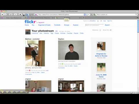 How to Create a Custom Flickr URL Username