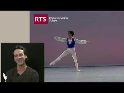 Yohan Stegli / Prix de Lausanne Prize winner
