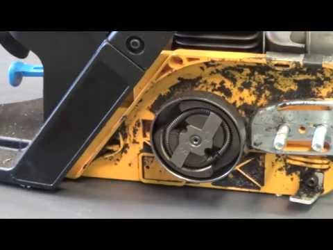 How to replace the clutch and sprocket on a Poulan chain saw