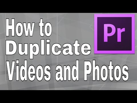 How to Duplicate Videos and Photos in Premiere Pro