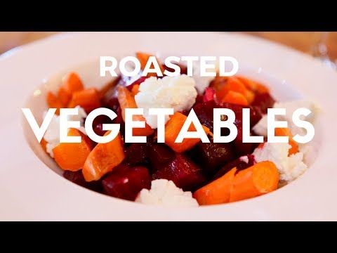 Roasted Winter Vegetables with Honey Citrus Glaze Recipe