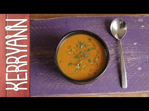 Roasted Mediterranean Vegetable Soup