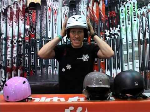 How to choose a ski or snowboard helmet - Al's Skiing Tips