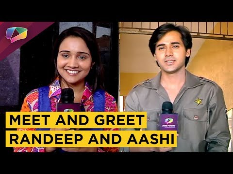 Fans Meet Their Favourite Celebrity Randeep and Aashi