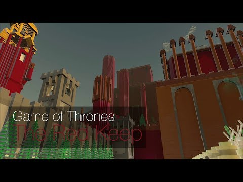 Lego Worlds - The Red Keep