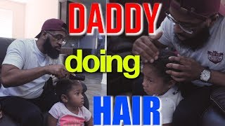 My First Time Doing Hair   Bearded Daddy Vlog Life Ep 96