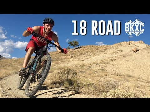 Mountain Biking the 18 Road trails in Fruita, Colorado