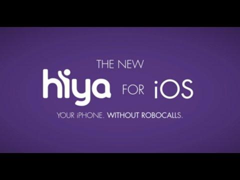 Hiya + iOS: Your iPhone. Without Robocalls.