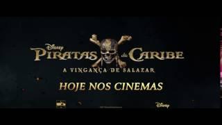 Piratas do Caribe: A Vingança de Salazar - Hoje Nos Cinemas