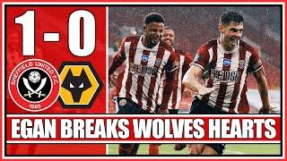EGAN'S LAST MINUTE WINNER - Sheffield United 1-0 Wolves - Match Reaction
