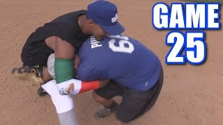 FIGHT DURING HOME RUN TROT! | On-Season Softball Series | Game 25