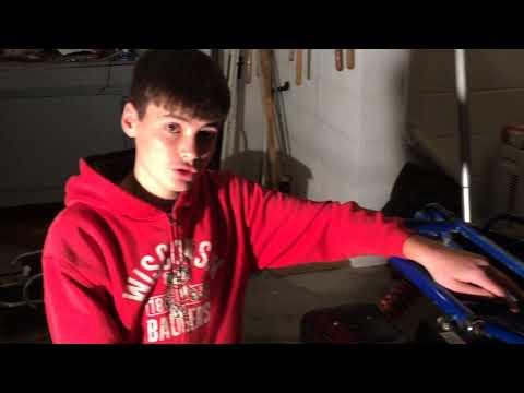 Hammerhead Go Kart 420cc Predator Engine Mount Install - Part 6