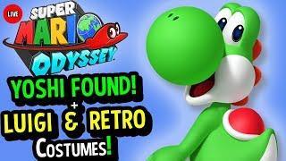 Super Mario Odyssey Gameplay LIVE - YOSHI + SUPER MARIO 64 COSTUME (Super Mario Odyssey Gameplay)