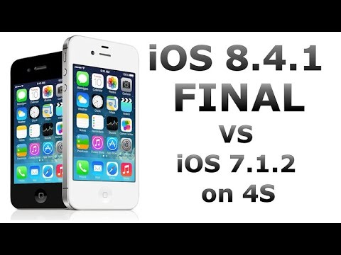 iOS 8.4.1 vs iOS 7.1.2 on iPhone 4S (Final Relase of iOS 8.4.1)