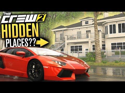 The Crew 2 | HIDDEN HOUSES, Arenas & Tracks!!!