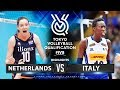 Netherlands Vs Italy Highlights Womens Volleyball Olympic Qualifying Tournament 2019