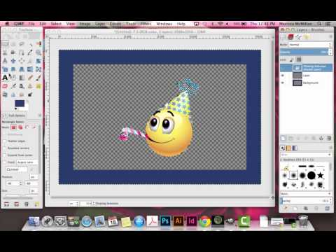 How To Create a Border in GIMP