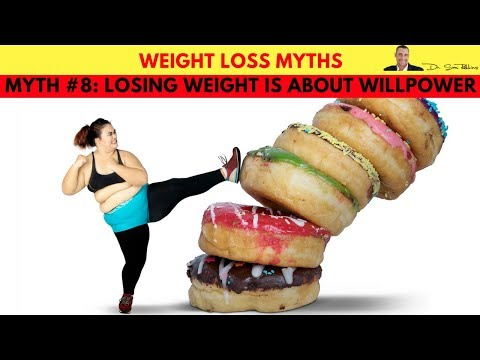 🍽️ Losing Weight Is About Willpower - Weight Loss Myth #8