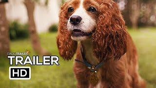 LADY AND THE TRAMP Official Trailer #2 (2019) Disney, Live-Action Movie HD