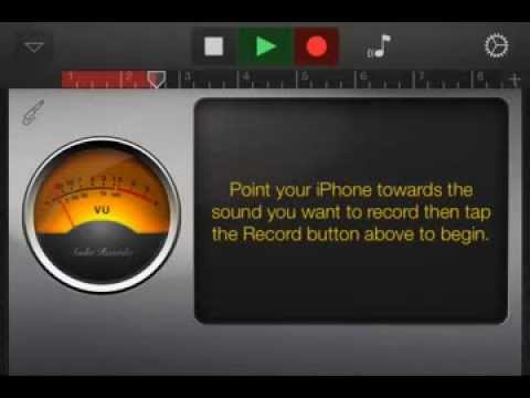 How to create a podcast using GarageBand on an iPhone with iOS 7