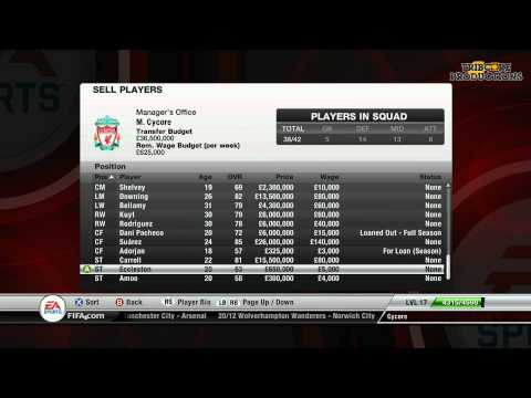 FIFA 12 - Liverpool Career Mode - SUMMER TRANSFER SPECIAL