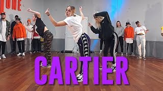 """Dopebwoy """"CARTIER"""" ft. Chivv & 3robi 
