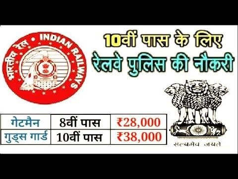 10वीं पास के लिए निकली रेलवे पुलिस (RPF) की नौकरी, Apply Now