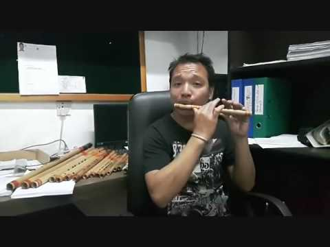 BASIC FLUTE LESSONS IN NEPALI BY RUPESH LAMA