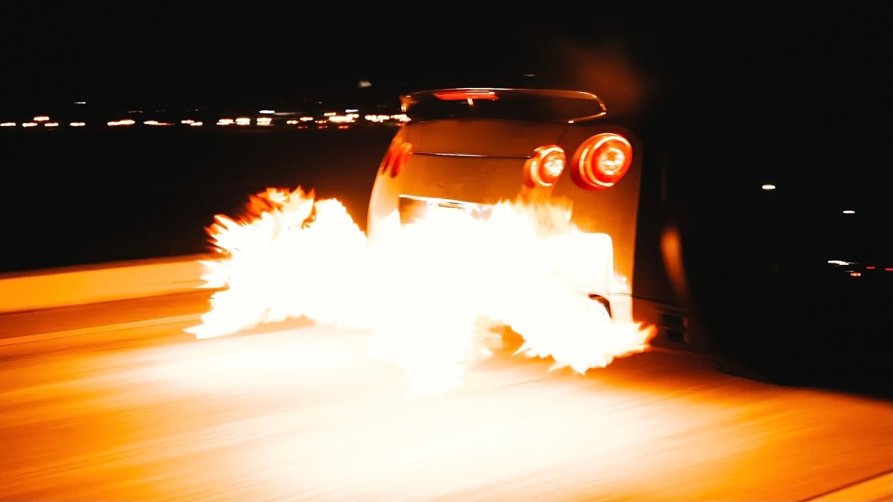 My GTR Literally Caught on Fire 😂